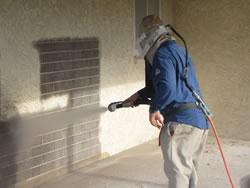 Lead Paint Sandblasting Removal
