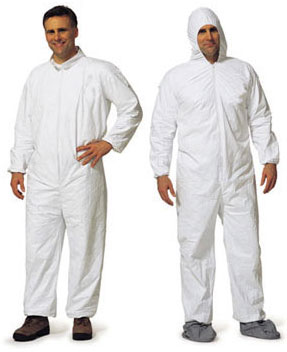 PROMAX Coveralls w/Hood, Elastic Wrist and Ankle 1028