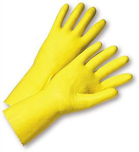West Chester Yellow Latex Rubber Glove 2312