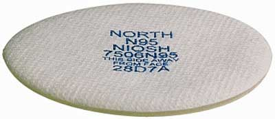 North 7506 N95 Replacement Pre-Filter