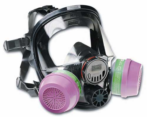 North 76008A Series Full Face Mask Respirator